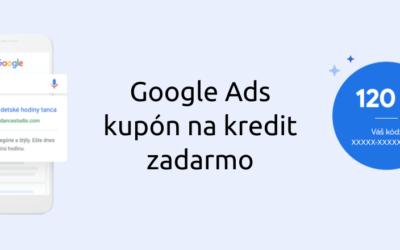 Google Ads reklama (Adwords) – ako získať kredit zadarmo